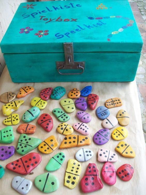 jogos material reciclado domino
