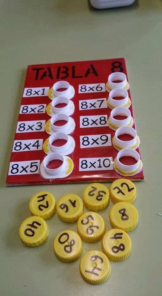 jogos material reciclado tabua