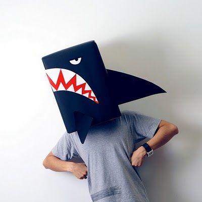 máscaras papelao 2