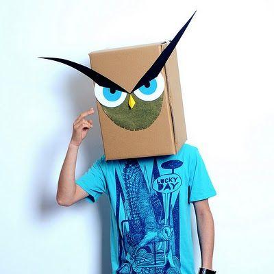 máscaras papelao 3