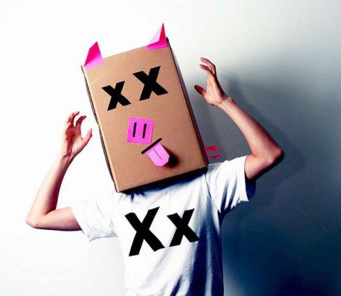 máscaras papelao 4