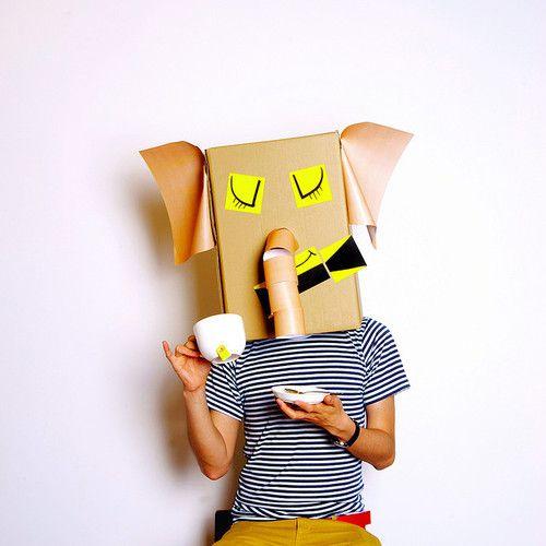 máscaras papelao 8