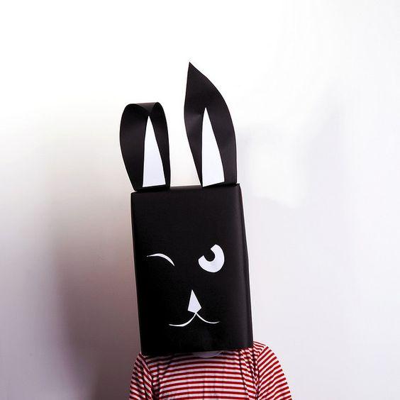 máscaras papelao 9