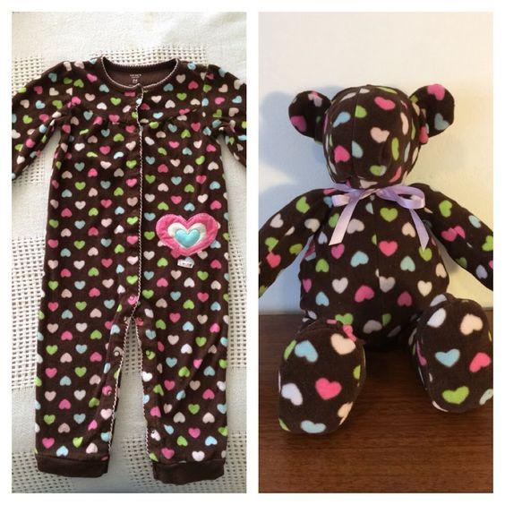 macacao de bebe transformado em urso