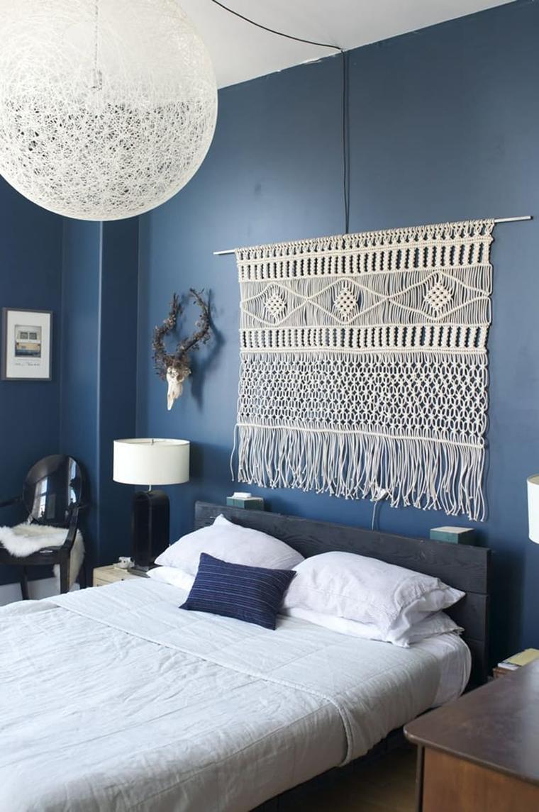 macrame decoracao cama 1