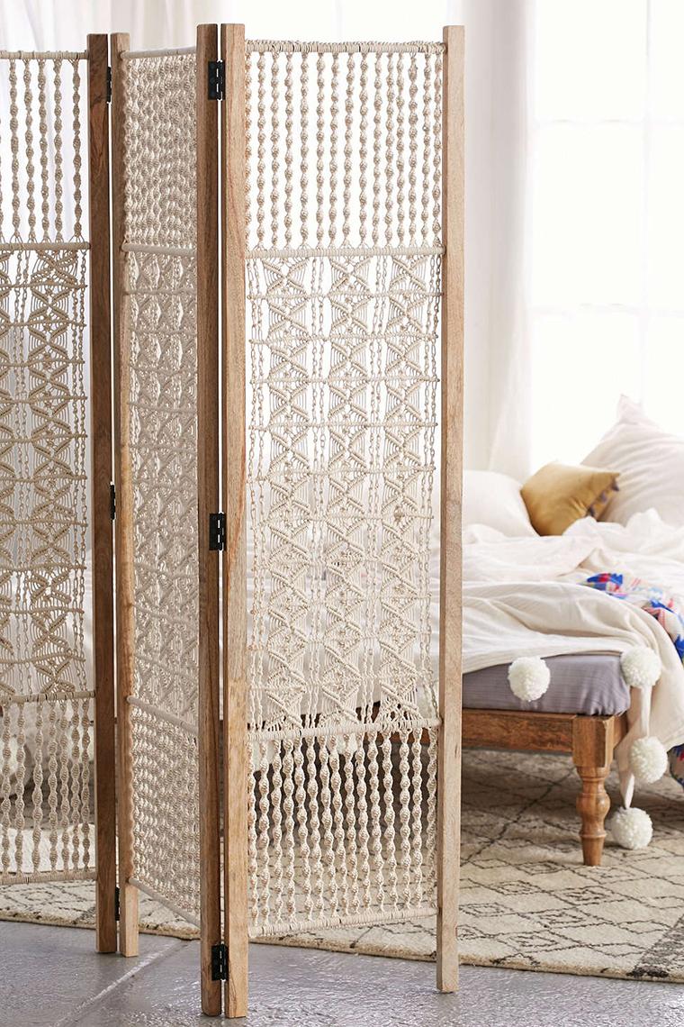 macrame decoracao cama 2