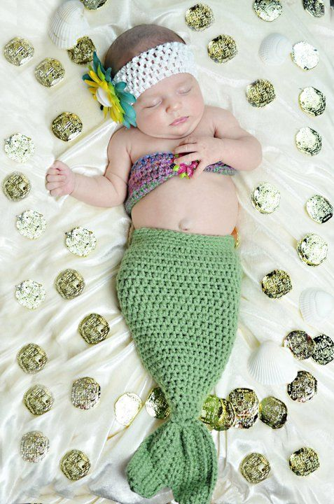 manta sereia para bebe