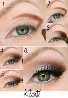 maquiagem de festa olhos
