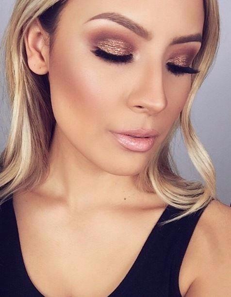 maquiagem formatura rosa