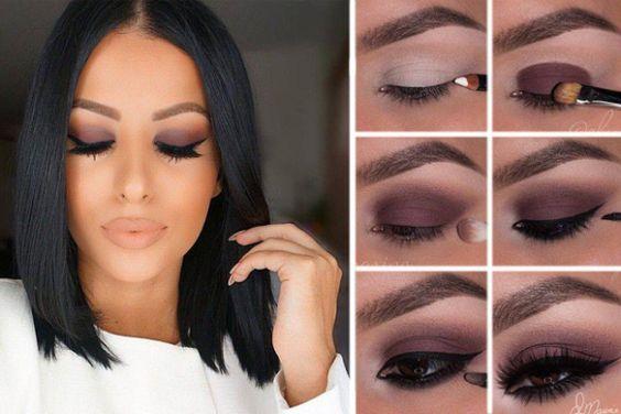 maquiagem olhos castanhos 5