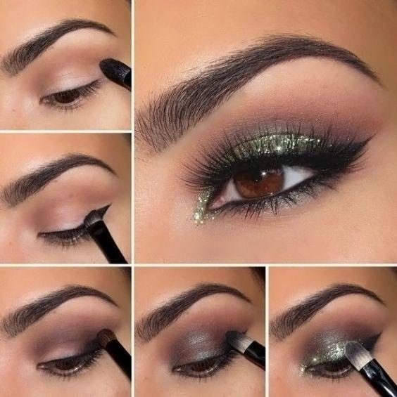 maquiagem olhos castanhos 8