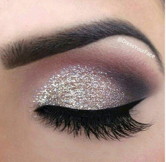 maquiagem sombra prateada 4