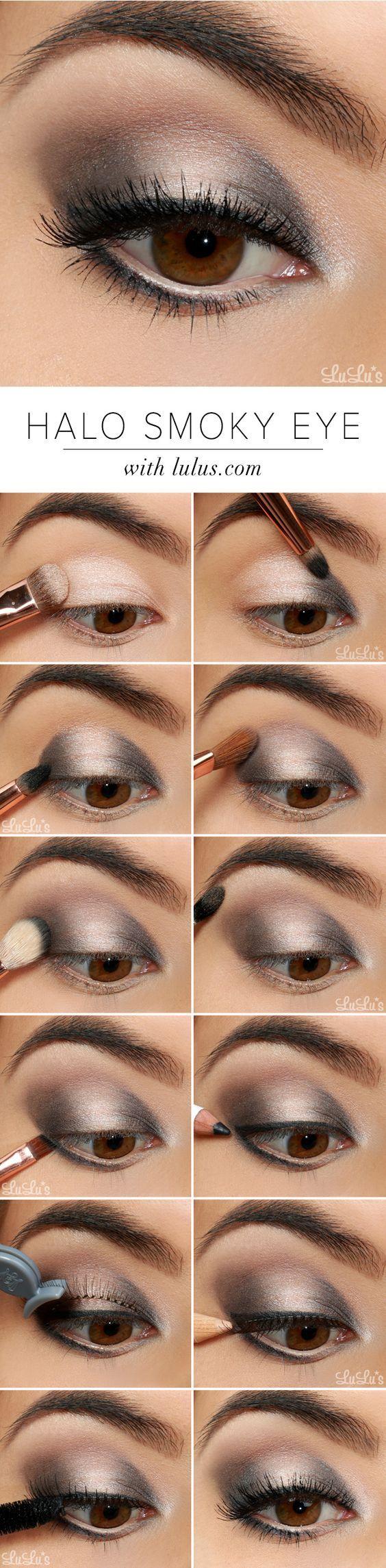 maquiagem sombra prateada 6
