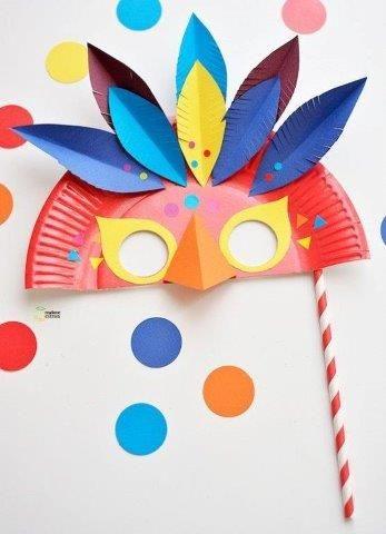 mascara carnaval prato descartavel 7