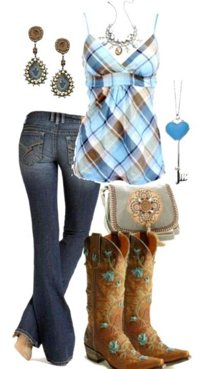 moda country mulher