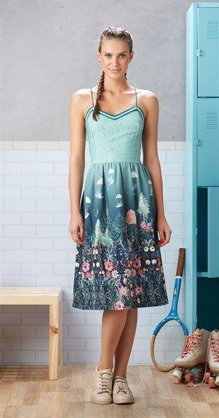 modelo como usar vestido alcinhas festa padrao