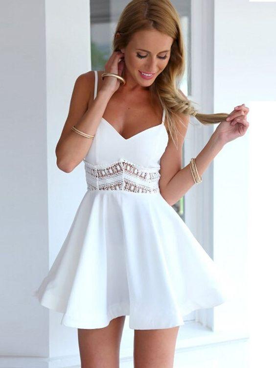 modelo como usar vestido alcinhas festa simples
