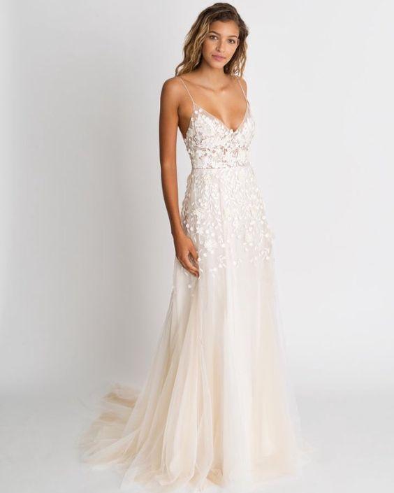 modelo vestido noiva verao alcas