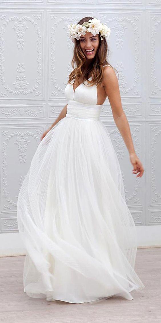 modelo vestido noiva verao praia