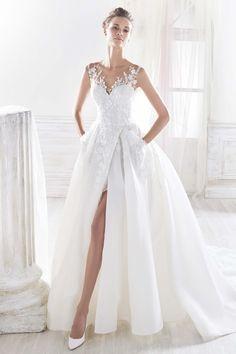 modelo vestido noiva verao princesa