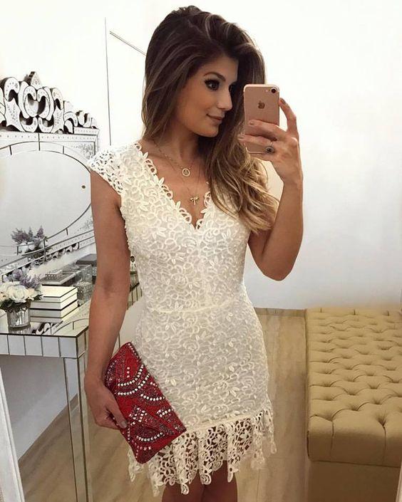 modelos dicas vestidos renda 1