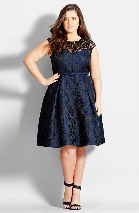 modelos vestidos plus size lindos 2