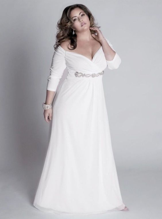 modelos vestidos plus size