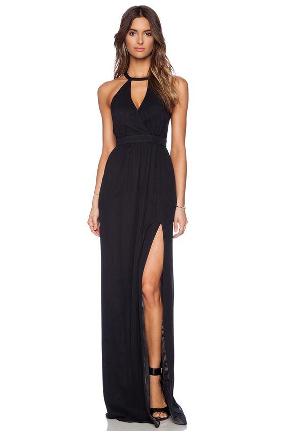 modelos vestidos pretos longos