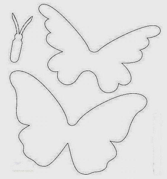 molde borboleta papel 2