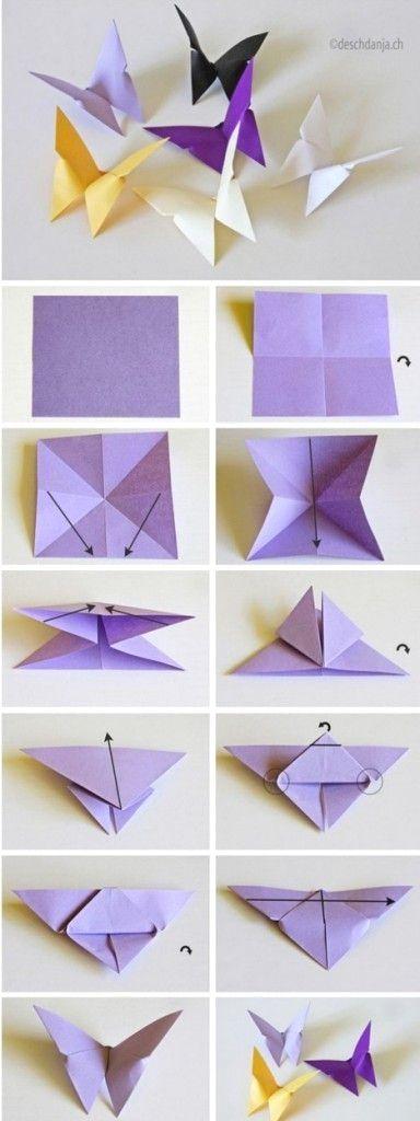 molde borboleta papel diy 1