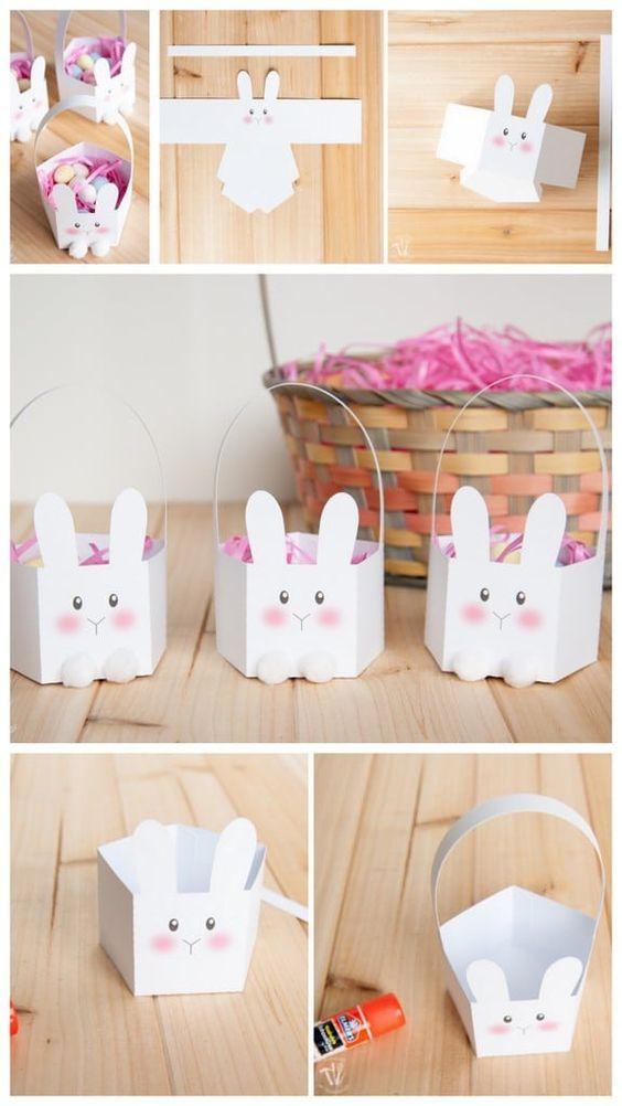 molde coelho papel 5