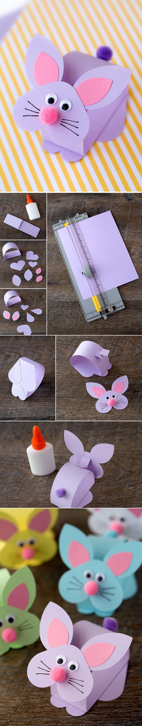 molde coelho papel 8