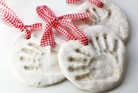 molde maos para natal