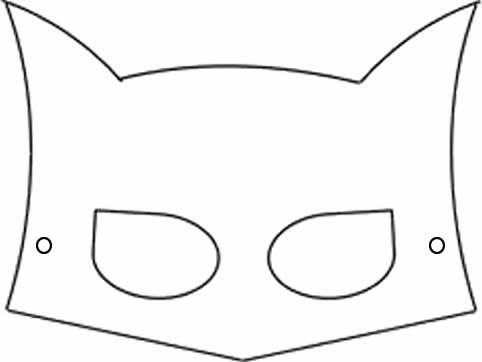 moldes mascaras carnaval batman