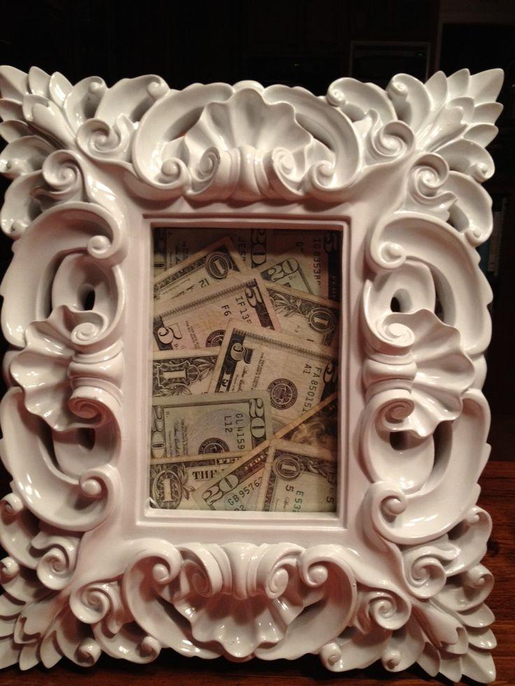 moldura de dinheiro