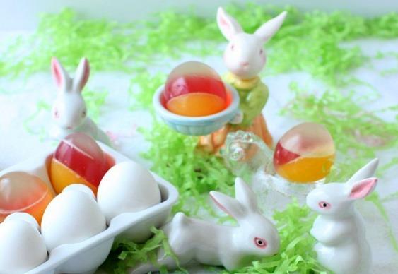 ovos gelatina pascoa