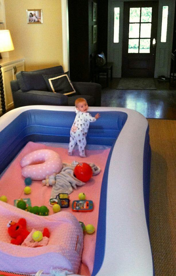 parque piscina para bebe