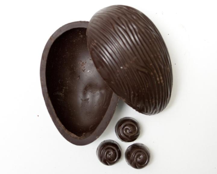 passo a passo ovos chocolate