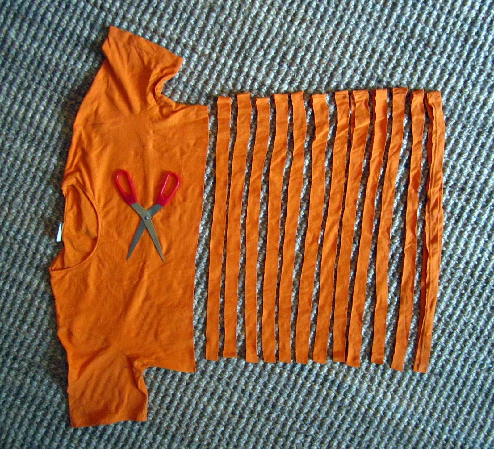 passo passo tapete camiseta velha 2