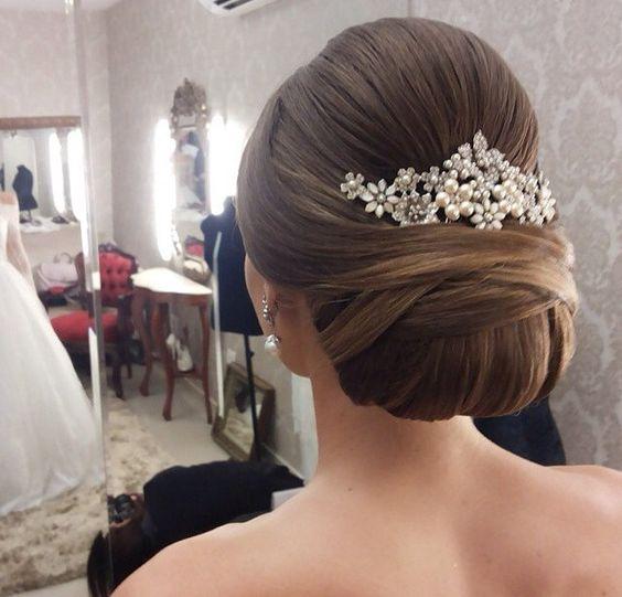 Penteados De Noiva Com Cabelo Longo