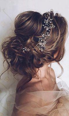 penteado cabelo noiva longo preso