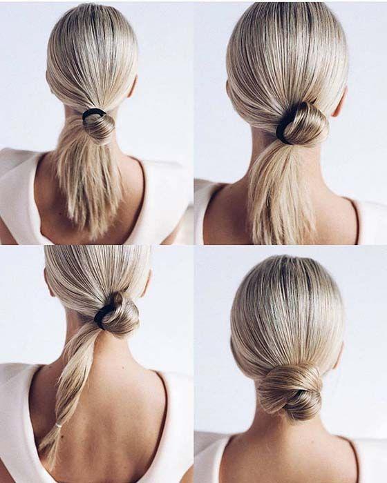 penteado calor passo passo 1