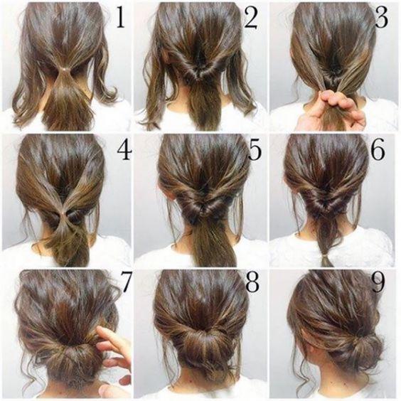penteado calor passo passo 8