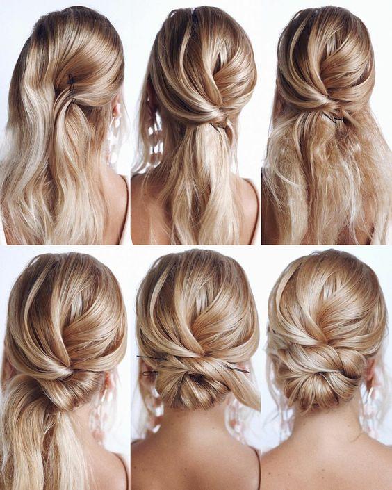 penteado calor passo passo 9
