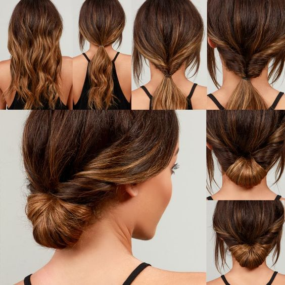 penteado calor passo passo