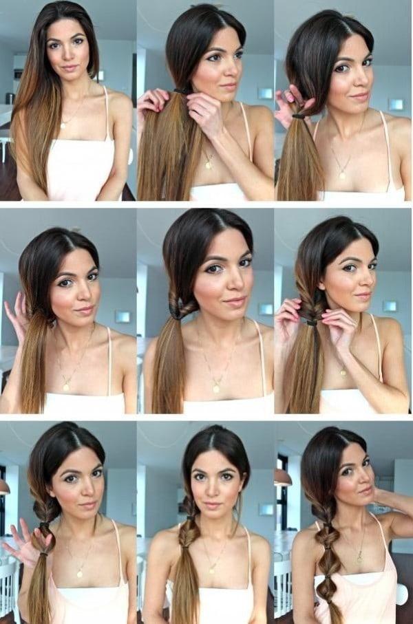 penteado facil passo passo 3