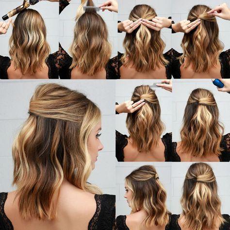penteado facil passo passo 7