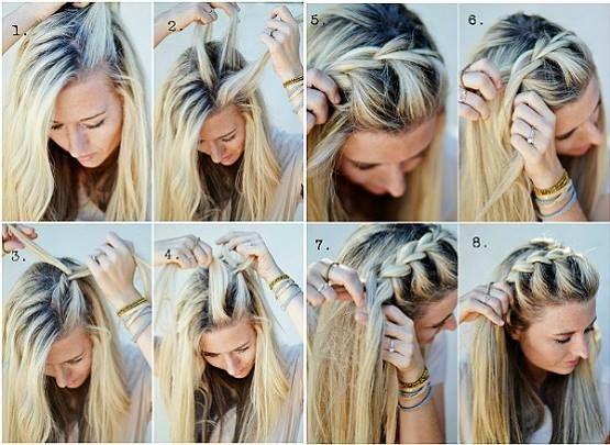 penteado facil passo passo