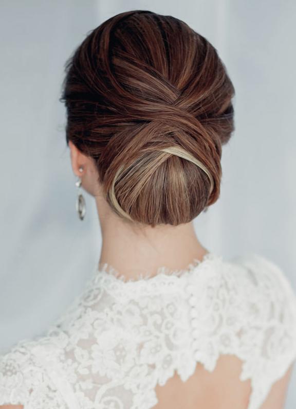 penteado noiva classico