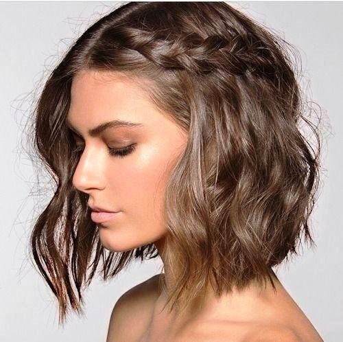 penteado simples cabelo curto